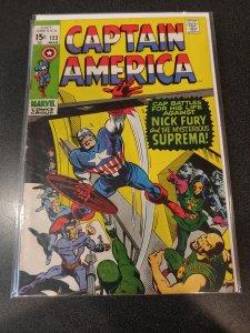 Captain America #123 (1970)