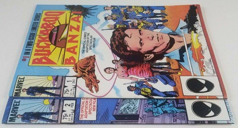 ?Buckaroo Banzai - Movie Adaptation 1984 Full Set 2 issue Mini Series