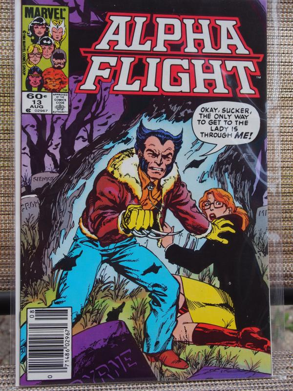 Alpha Flight 13 VF/NM Unread