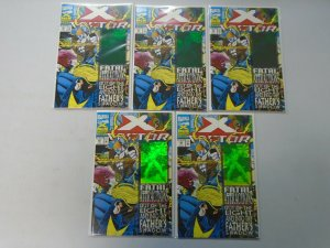 X-Factor #92 lot of 10 with Hologram cover NM (1993)