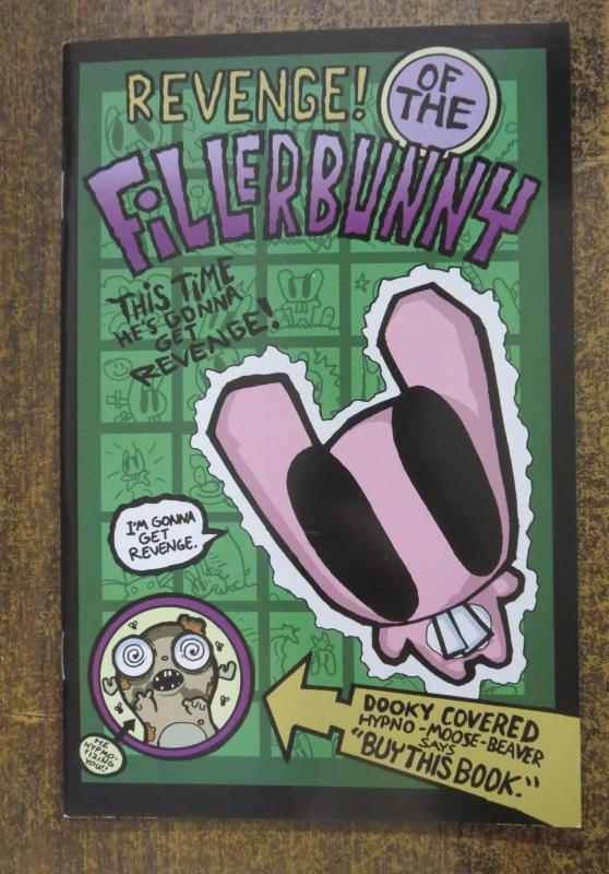 REVENGE OF THE FILLERBUNNY! JHONEN VASQUEZ NM FIFTH PRINTING