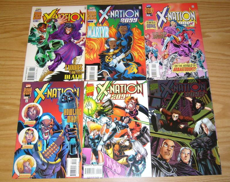 X-Nation 2099 #1-6 VF/NM complete series X-MEN 2099 SPIN OFF humberto ramos set