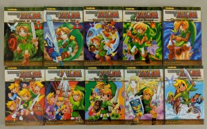 The Legend of Zelda Vol 1-10 (Viz, 2008) Akira Himekawa Vizkids