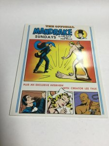 The Official Mandrake Sundays SC Softcover Oversized Pioneer Books