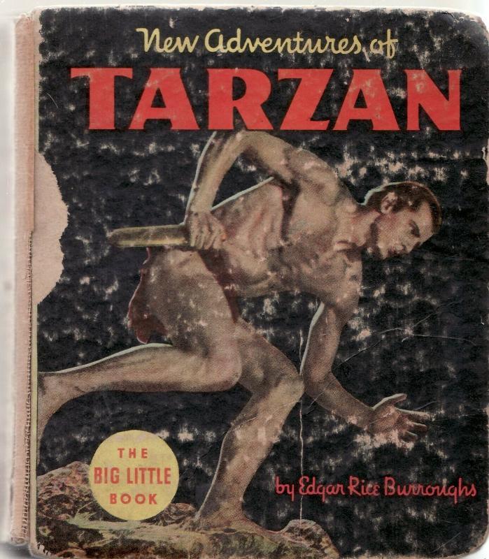 NEW ADVENTURES OF TARZAN-1935-BIG LITTLE BOOK-WHITMAN P/FR