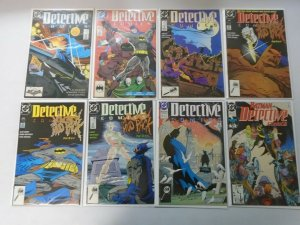 Detective Comics lot 28 different from #601-646 avg 6.0 FN (1989-92)