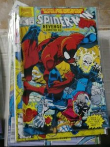 SPIDER-MAN # 16 MARVEL 1991 Last mcfarlane art +x force juggernaut