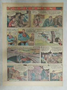 Superman Sunday Page #928 by Wayne Boring from 8/11/1957 Size ~11 x 15 inches