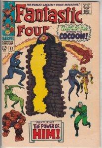 Fantastic Four #67 (Oct-67) FN/VF+ High-Grade Fantastic Four, Mr. Fantastic (...