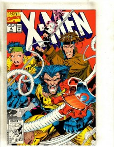 X-Men # 4 NM- Marvel Comic Book 1st Omega Red Wolverine Storm Beast Angel HJ9