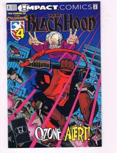 The Black Hood #5 VF Impact Comics The Coming Of The Crusaders Comic Book DE19