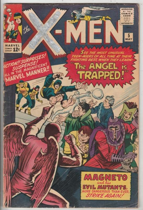 X-Men #5 (May-64) VG+ Affordable-Grade X-Men
