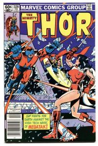 Thor #328 comic book-1983-First appearance of MEGATAK