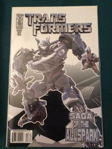 Transformers Saga of the Allspark #3 cover A