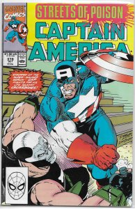 Captain America   vol. 1   #378 VG (Streets of Poison 7)