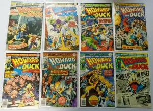 Howard the Duck (1st Series) From:#1-31+ Annual, 24 Diff. #1 is 3, 6.0 (1976-79)