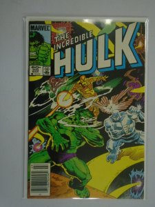Incredible Hulk #305 Newsstand edition 6.0 FN (1985 1st series)