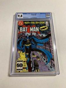 Batman 385 Cgc 9.8 White Pages Dc Comics 1985