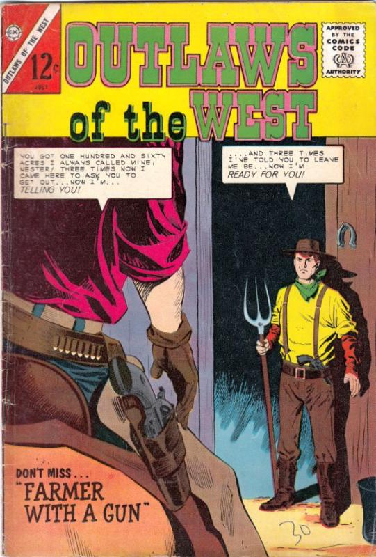Outlaws of the West #49 (Jul-64) VG/FN Mid-Grade Sherrif Ray Burton