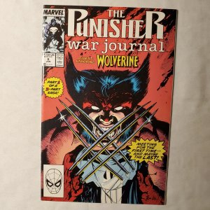 Punisher War Journal 6 Very Fine/Near Mint Cover art by Jim Lee