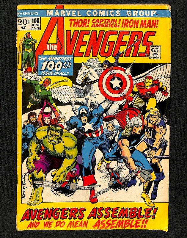 Avengers #100