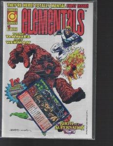 Elementals #1 (Comico, 1995) NM