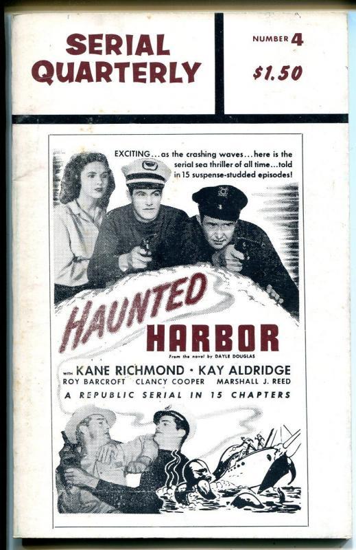 Serial Quarterly #4 1966-serial synopsis-Haunted Harbor-Sea Hound-Black Hawk-VG