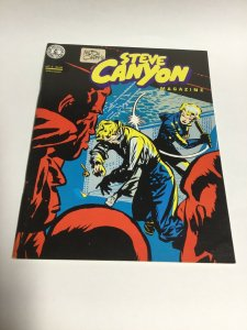 Steve Canyon Magazine 5 Sc Softcover Milton Caniff Kitchen Sink Comix