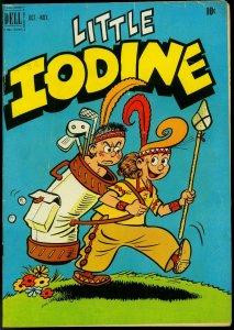 Little Iodine #8 1951- Dell Golden Age- Golf cover VG+