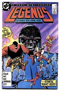 Legends #1 comic book first Amanda Waller- Suicide Squad movie DC Byrne