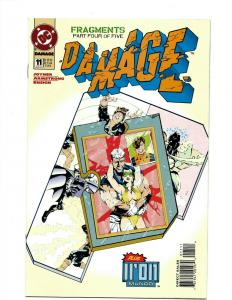 Lot of 10 Damage DC Comics Comic Books #11 12 131 14 15 16 17 18 19 20 J394