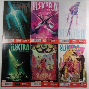Elektra #3 4 5 6 7 8 Marvel 2014