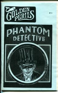 Golden Perils #13 1989-pulp fanzine-Phantom Detective-NM