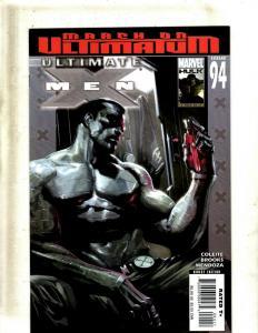 Lot of 7 Ultimate X-Men Marvel Comic Books #94 95 98 99 100 Annual #1 2 EK5