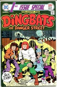 1ST ISSUE SPECIAL #6-THE DINGBATS-HIGH GRADE-JACK KIRBY VF/NM