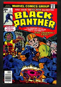 Black Panther #1 VF+ 8.5 1st Solo Title!