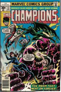 CHAMPIONS 13 VF-  May 1977
