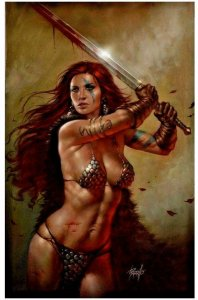 DYNAMITE Comic RED SONJA #20 Lucio Parrillo NYCC Virgin Variant NM Ltd 500