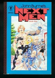 JOHN BYRNE'S NEXT MEN TRADE PAPERBACK-BOOK ONE-1st EDITION FN