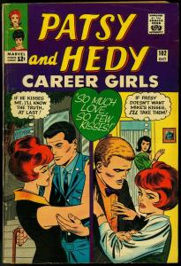 PATSY AND HEDY #102 PAPER DOLLS FASHIONS 1965 MARVEL VG/FN