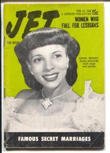 Jet  2/25/1954-Hadda Brooks-African-American culture-VG