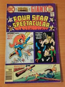 Four Star Spectacular #4 ~ FINE - VERY FINE VF ~ 1977 DC Comics