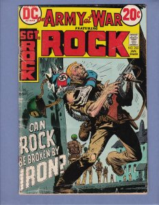 Our Army At War #253 GD/VG SGT Rock Iron Major Joe Kubert DC 1973