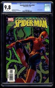 Amazing Spider-Man #524 CGC NM/M 9.8 White Pages