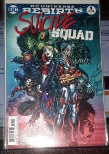 SUICIDE SQUAD #1, VF/NM, Jim Lee, Rebirth, 2016, more Harley Quinn in store