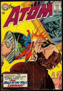 The Atom #18 1965- Gil Kane art- DC Silver Age G