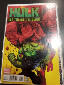 HULK LET THE BATTLE BEGIN #1
