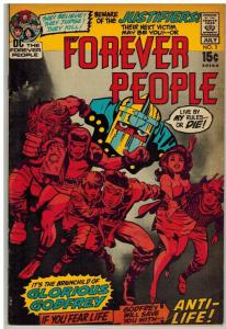 FOREVER PEOPLE 3 FN July 1971