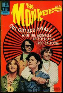 The Monkees #14 1968- Dell TV comic- David Jones photo cover VG-