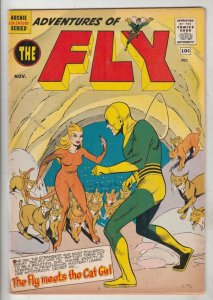 Adventures of the Fly #9 (Nov-60) VG Affordable-Grade The Fly, Fly-Girl